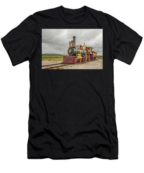 Locomotive No. 119 Men's T-Shirt (Athletic Fit)