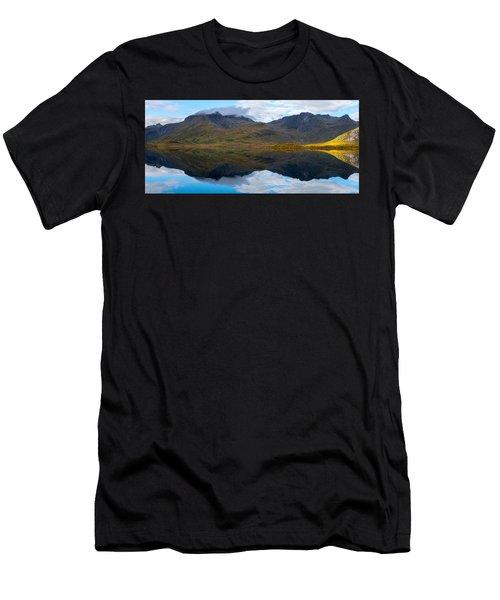 Lofoten Lake Men's T-Shirt (Athletic Fit)
