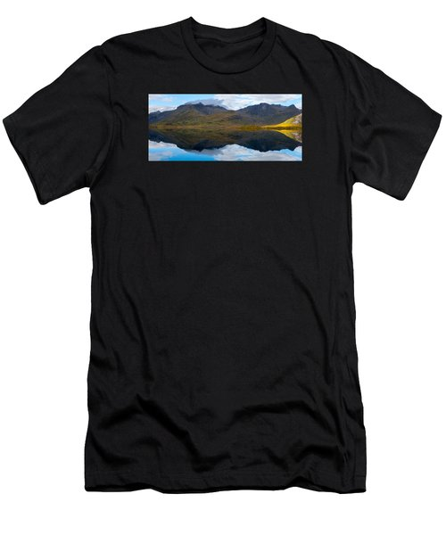 Men's T-Shirt (Athletic Fit) featuring the photograph Lofoten Lake by James Billings