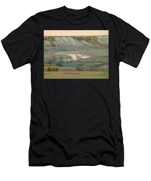 Logging Camp River Reverie Men's T-Shirt (Athletic Fit)