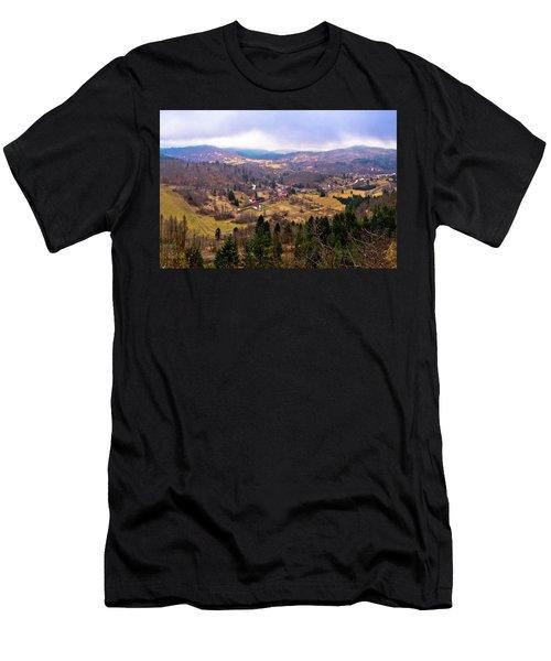 Lokve Valley In Gorski Kotar View Men's T-Shirt (Athletic Fit)