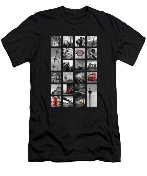 London Squares Men's T-Shirt (Athletic Fit)