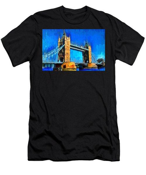 London Tower Bridge 1 - Da Men's T-Shirt (Athletic Fit)