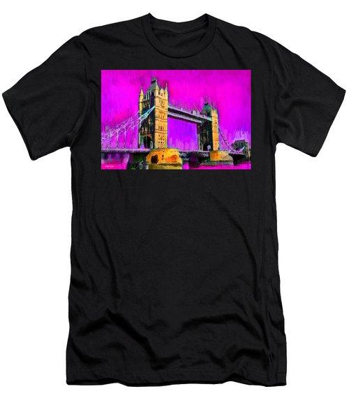 London Tower Bridge 9 - Pa Men's T-Shirt (Athletic Fit)