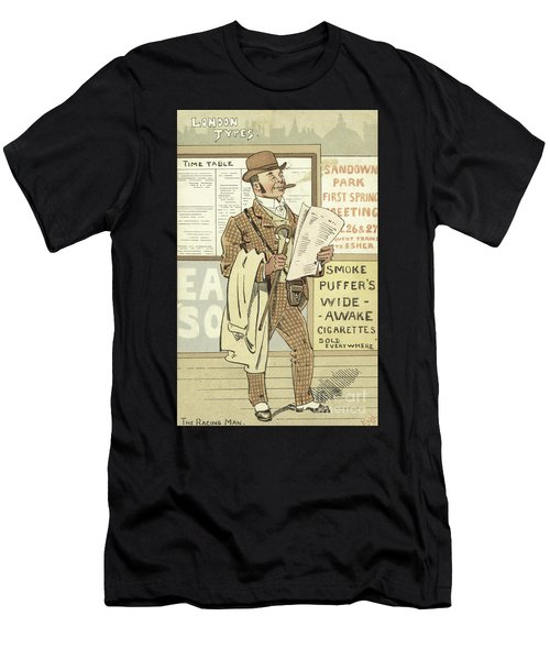 London Types, The Racing Man Men's T-Shirt (Athletic Fit)