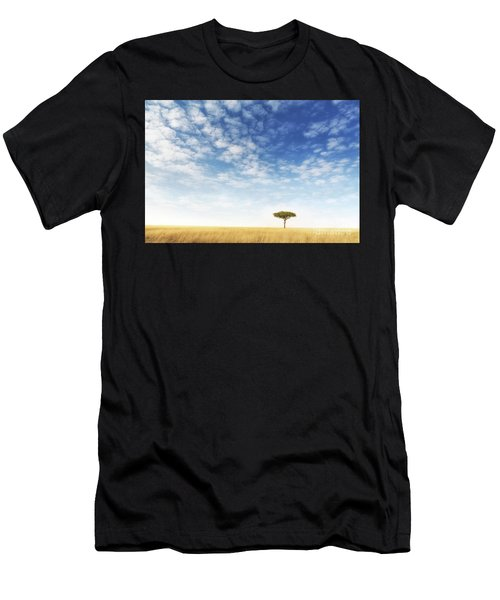 Lone Acacia Tree In The Masai Mara Men's T-Shirt (Athletic Fit)