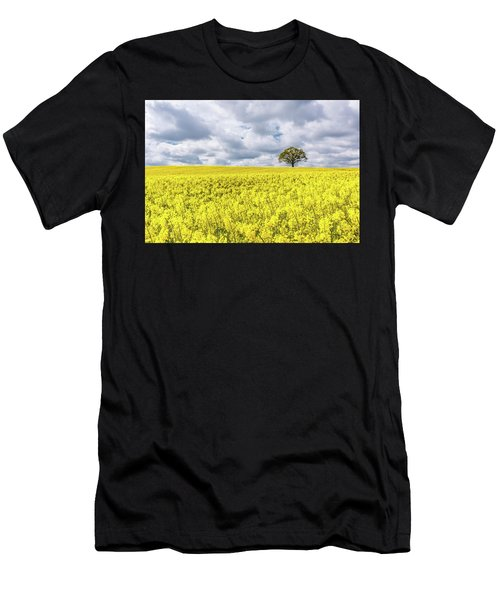 Men's T-Shirt (Athletic Fit) featuring the photograph Lone Beauty by Nick Bywater