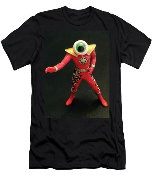 Lone Eye Ranger Men's T-Shirt (Slim Fit) by Douglas Fromm