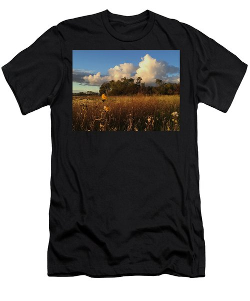 Lone Flower Men's T-Shirt (Athletic Fit)