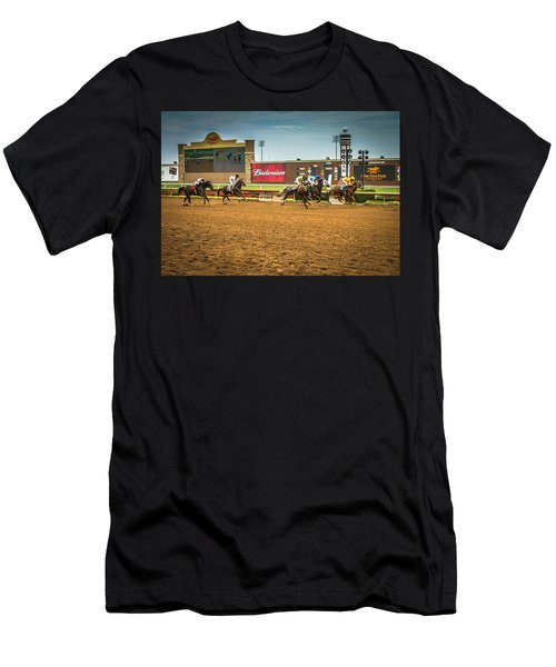 Lone Star Park Grand Prairie Texas Men's T-Shirt (Athletic Fit)