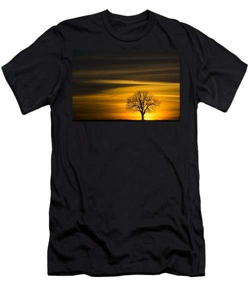Lone Tree - 7061 Men's T-Shirt (Athletic Fit)