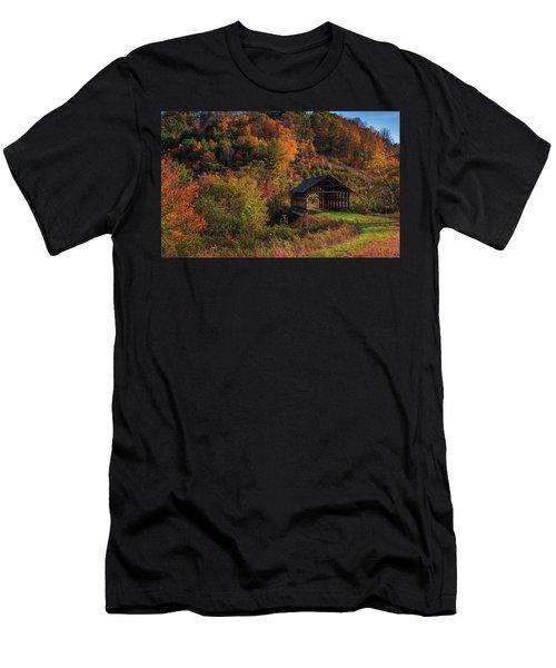 Lonely Bridge Men's T-Shirt (Athletic Fit)