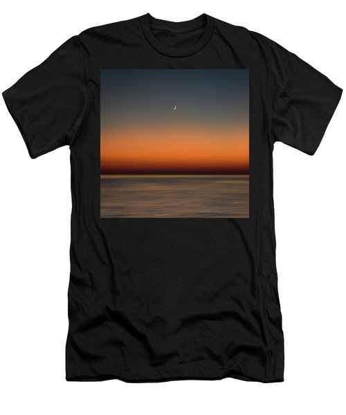 Lonely Moon Men's T-Shirt (Athletic Fit)