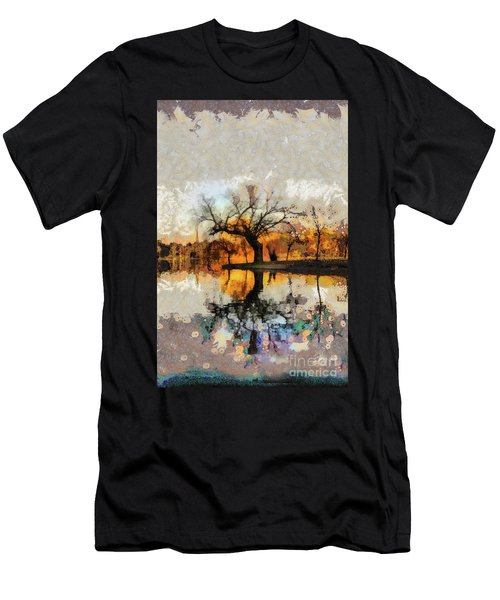 Lonely Tree And Its Thoughts Men's T-Shirt (Athletic Fit)