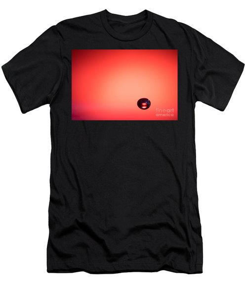 Lonely Water Drop Men's T-Shirt (Athletic Fit)