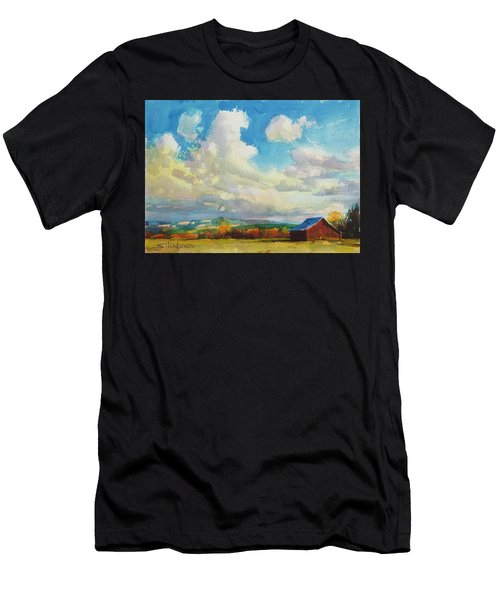 Lonesome Barn Men's T-Shirt (Athletic Fit)