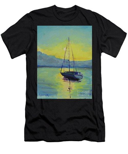Long-awaited Sunrise Men's T-Shirt (Athletic Fit)