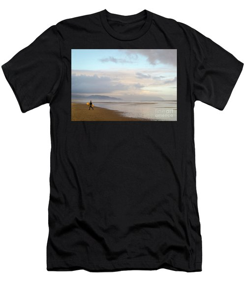 Long Day Surfing Men's T-Shirt (Athletic Fit)