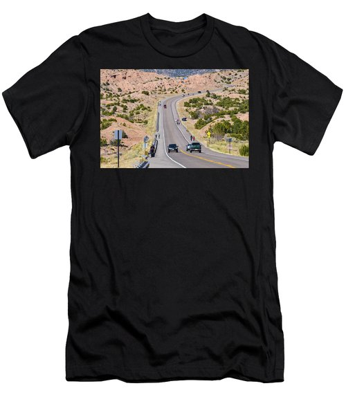 Long Hike Men's T-Shirt (Athletic Fit)