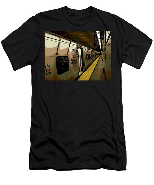 Long Island Railroad Men's T-Shirt (Athletic Fit)