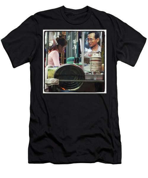 Men's T-Shirt (Athletic Fit) featuring the photograph Long Live The King. Even After His by Mr Photojimsf
