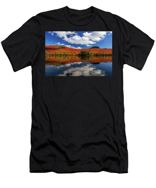 Long Pond And Clouds Men's T-Shirt (Athletic Fit)