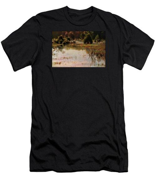 Long Pond Misty Morning Men's T-Shirt (Athletic Fit)