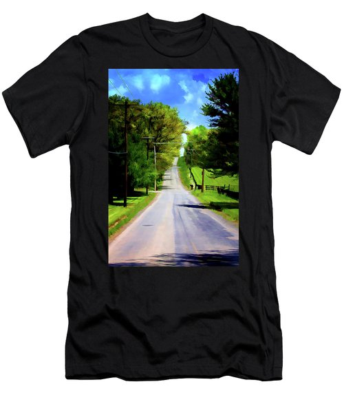 Long Road Ahead Men's T-Shirt (Athletic Fit)