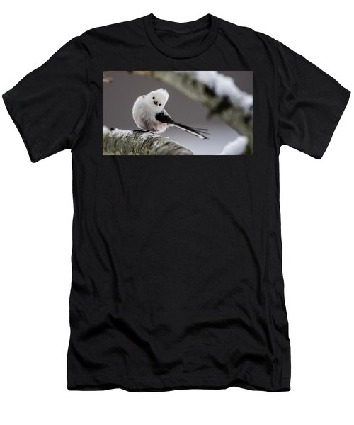 Men's T-Shirt (Slim Fit) featuring the photograph Long-tailed Look by Torbjorn Swenelius