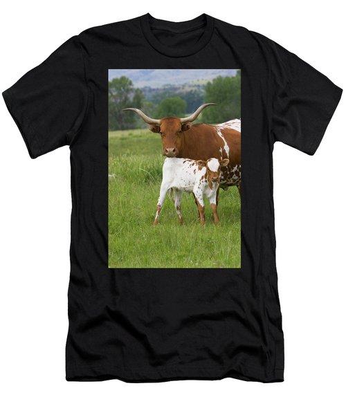 Longhorns Men's T-Shirt (Athletic Fit)