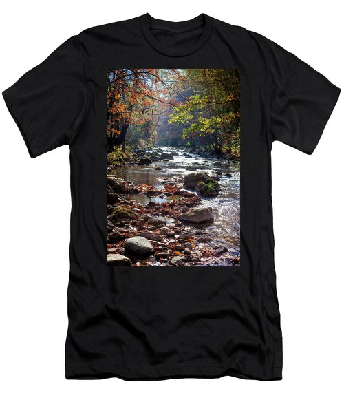 Longing For Home Men's T-Shirt (Slim Fit) by Karen Wiles
