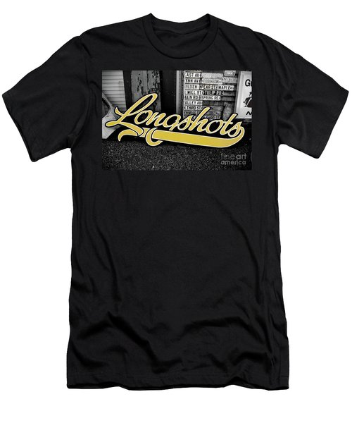 Longshots - Sign Men's T-Shirt (Athletic Fit)