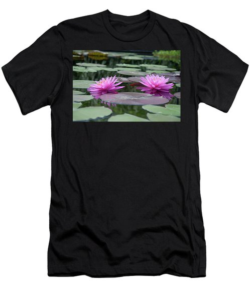 Longwood Gardens - Water Lillies - Chester County Pa Men's T-Shirt (Athletic Fit)