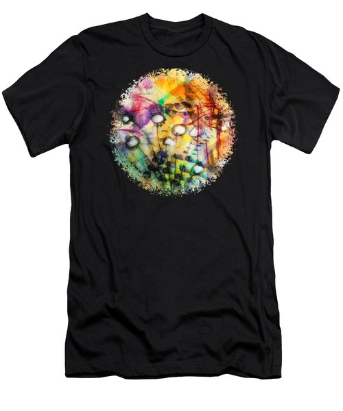 Look Around Men's T-Shirt (Athletic Fit)