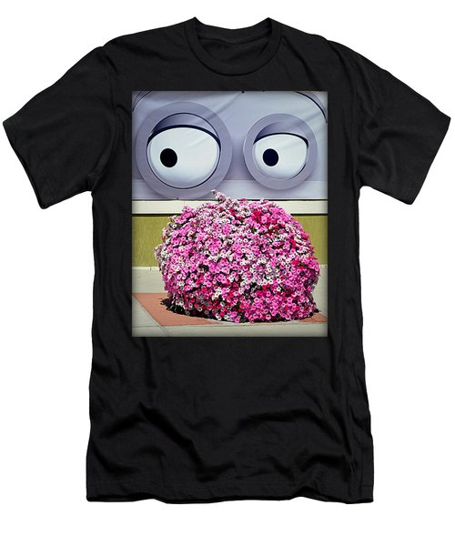 Look At Those Flowers Men's T-Shirt (Athletic Fit)