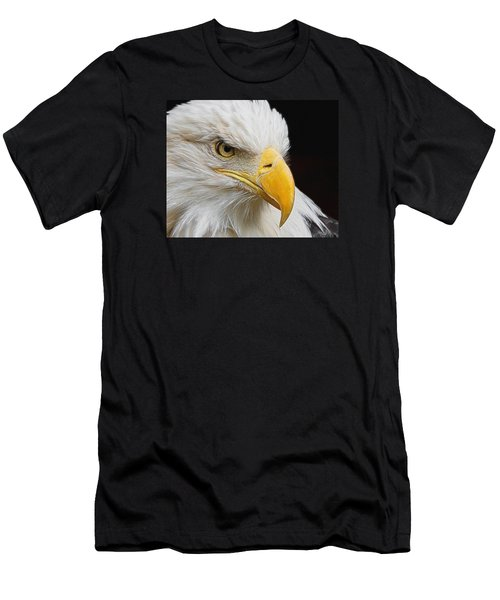 Look Of The Eagle Men's T-Shirt (Slim Fit) by Ernie Echols