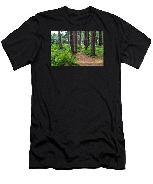 Look Park Nature Path Men's T-Shirt (Athletic Fit)