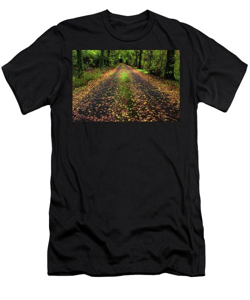 Looking Down The Lane Men's T-Shirt (Athletic Fit)