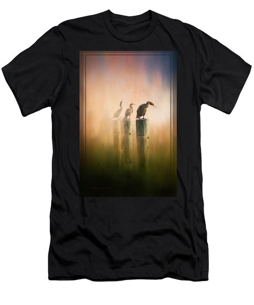 Looking Into The Mist Men's T-Shirt (Athletic Fit)