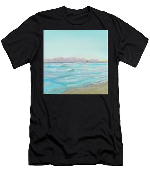 Looking South Tryptic Part 2 Men's T-Shirt (Athletic Fit)