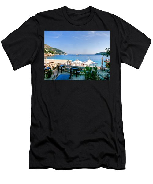 Looking To Dine Out Men's T-Shirt (Athletic Fit)