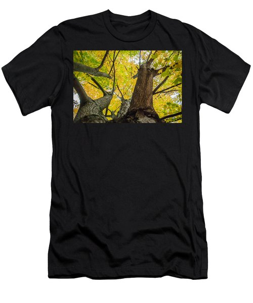 Looking Up - 9682 Men's T-Shirt (Athletic Fit)