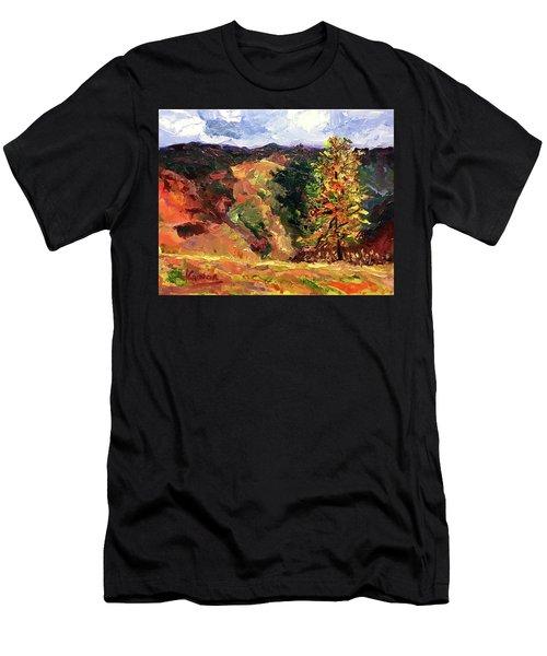 Loose Landscape Men's T-Shirt (Athletic Fit)