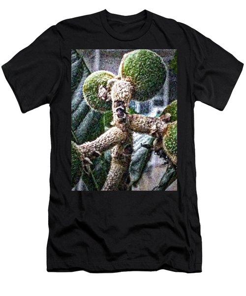 Loquat Man Photo Men's T-Shirt (Athletic Fit)