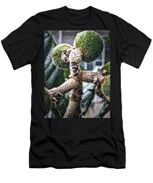 Loquat Man Photo Men's T-Shirt (Athletic Fit)