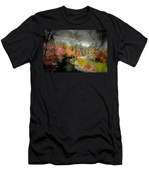 Lorillard Mill Men's T-Shirt (Athletic Fit)