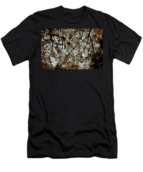 Men's T-Shirt (Athletic Fit) featuring the photograph Branch Two by Lucian Capellaro