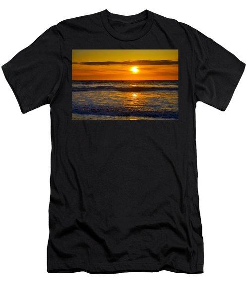 Lost Coast Sunset Men's T-Shirt (Athletic Fit)