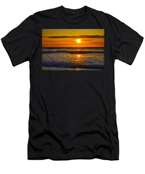 Lost Coast Sunset Men's T-Shirt (Athletic Fit)