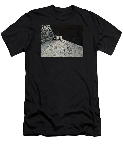 Lost In New York Men's T-Shirt (Slim Fit) by Yelena Tylkina